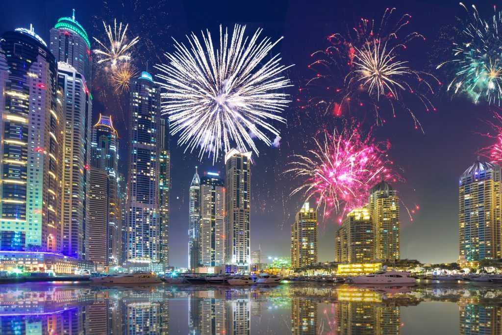 New Years Eve-Dubai, UAE: